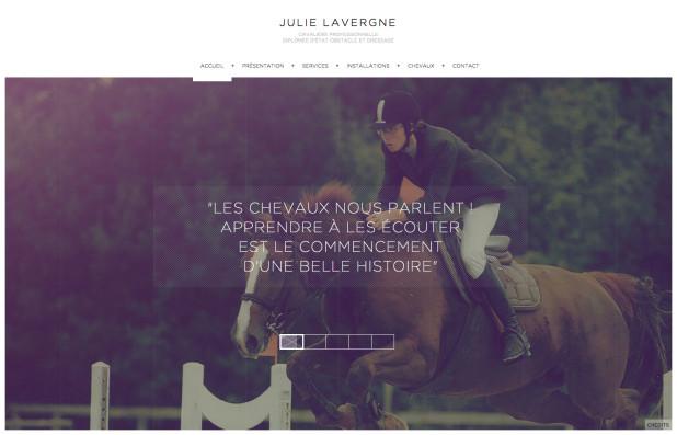 Julie Lavergne – Cavalière professionnelle dressage obstacle – 77