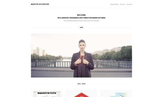 Martin Silvestre — Graphic Designer & Art Director in Paris