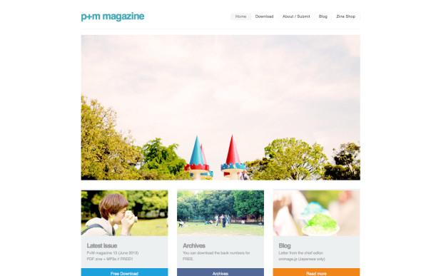 P+M magazine (Free PDFzine + MP3 compilation)