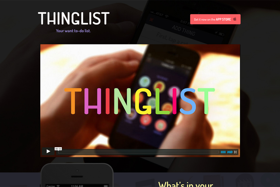 Thinglist---Your-'want-to-do'-list