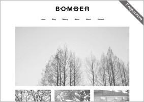 レスポンシブwebデザイン対応テンプレート「BOMBER」