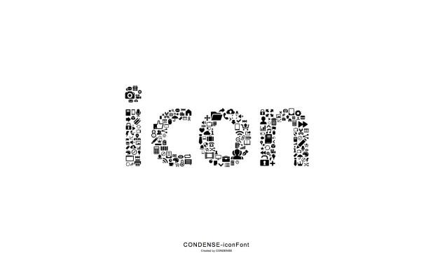 CONDENSE-iconFont