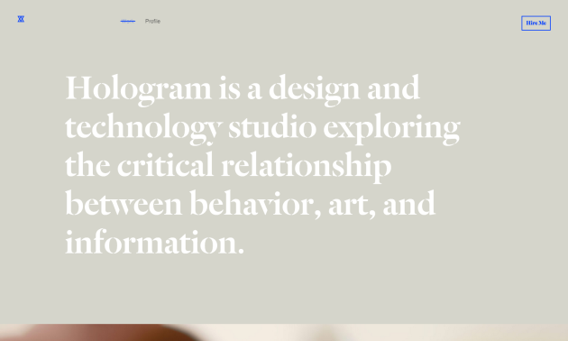Hologram Studio
