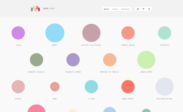 Mosne - Graphic & Web design