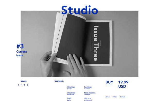 Studio Magazine- Issue #3