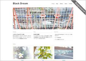 blackdream (レスポンシブ対応)