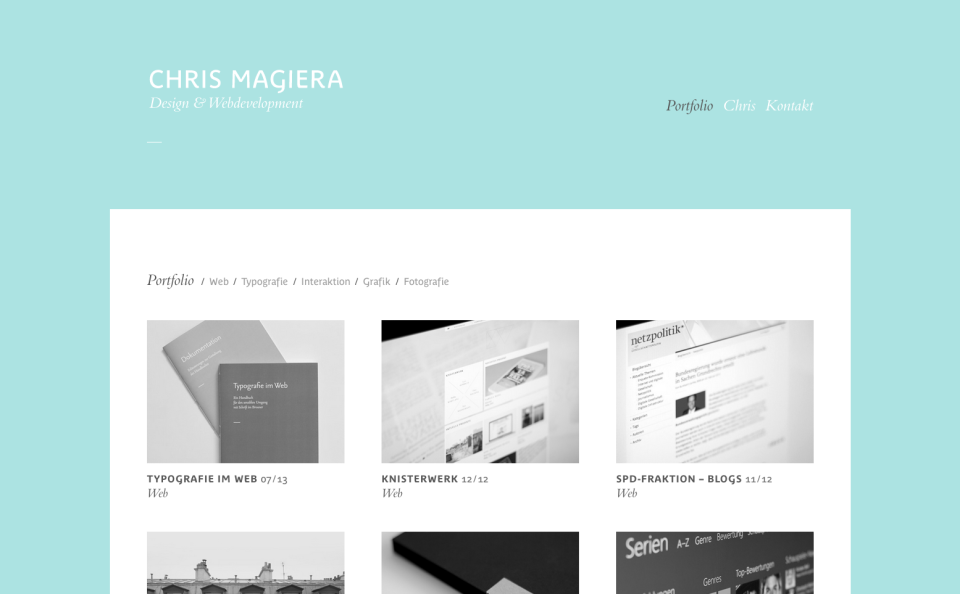 Chris Magiera – Design & Webdevelopment