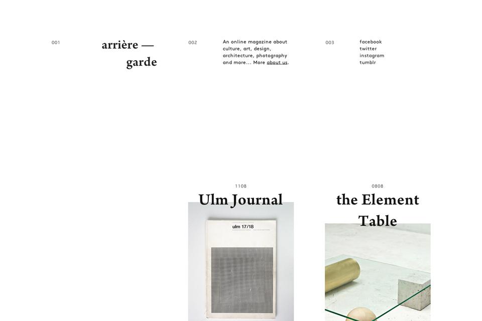 Arrière-garde-_-An-online-magazine