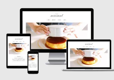 WordPressテンプレートMinimal Cafe