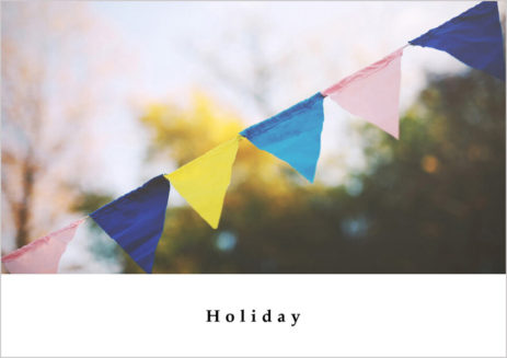 WordPressテンプレートHoliday